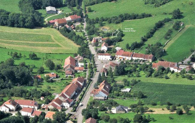 Localisation de la maison dite de Jacques de Molay.