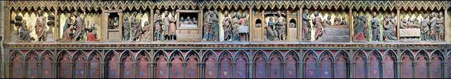 Clôture sud de Notre-Dame de Paris