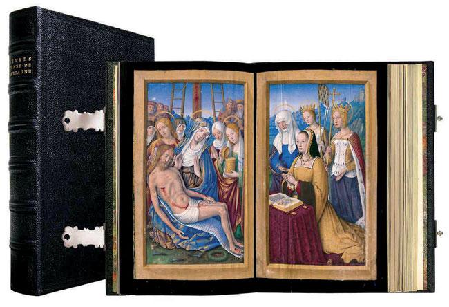 Livres d'Heures d'Anne de Bretagne.