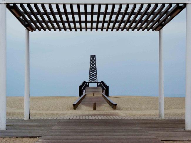 Mathieu Guillochon, photographe, rivages, couleurs, mer, Méditerranée, Port Leucate, aube