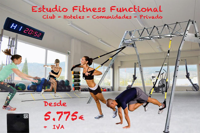 Functional Training Estudio completo desde 5.775 euros