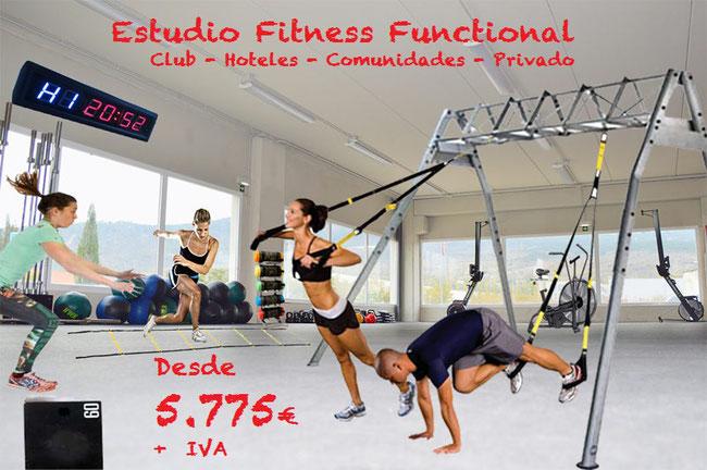 Functional Training Estudio completo desde 5.775 euros