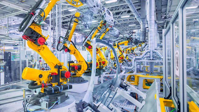 Automation, Roboter, Industrie 4.0