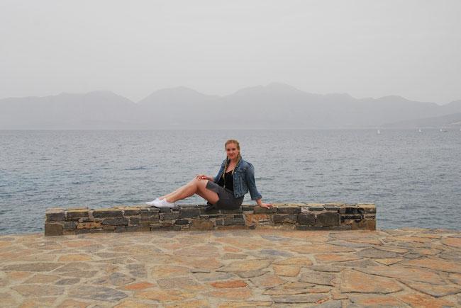 Agios Nikolaos liegt in einer Bucht - man hat eine tolle Aussicht auf die Landschaft
