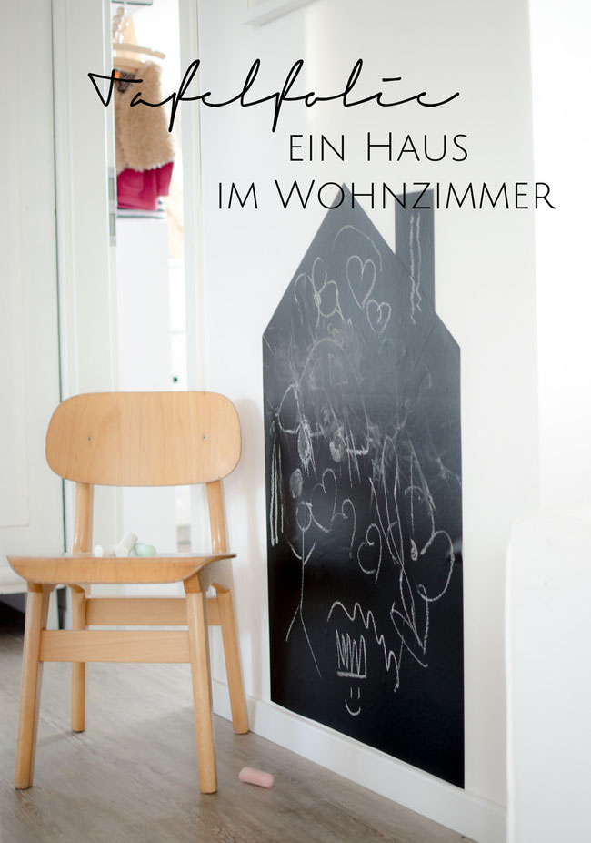 tafelfolie im kinderzimmer diy stilarten kunst und design. Black Bedroom Furniture Sets. Home Design Ideas