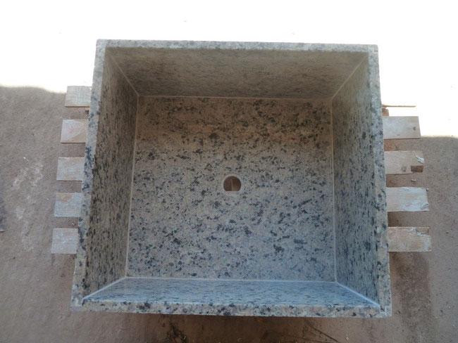 Pila granito paellero a medida