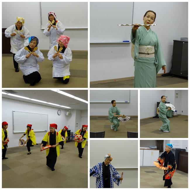 新舞踊と日本舞踊