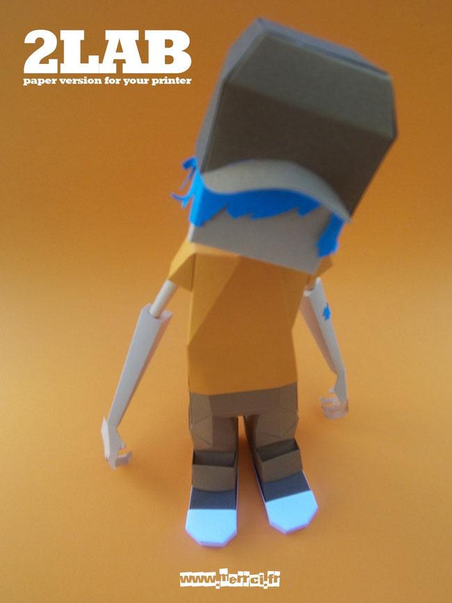 2LAB Paper Toy