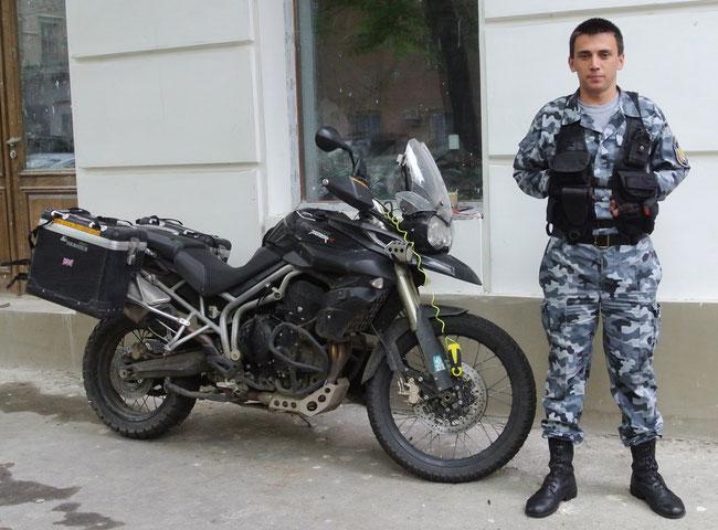 Nicht überall wurde der Tiger rund um die Uhr so gut bewacht wie in Odessa in der Ukraine…