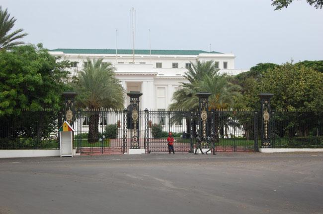 Palacio-Presidential de Senegal
