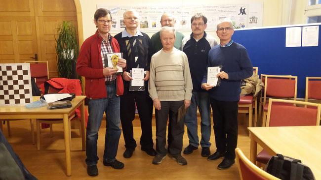 Behinderten-Schachturnier - Vereinsmitglieder Holger Mende wurde Dritter