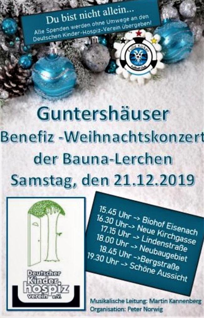 Plakat Weihnachtskonzert