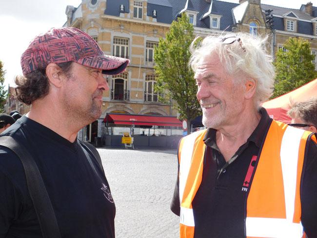Thomas-Maria Schmidt mit Terry Clark in Ypern