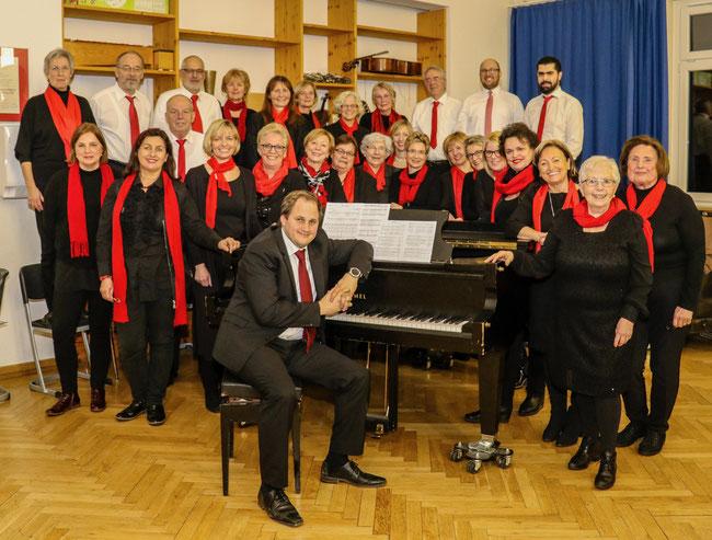 """Der Liederkranz Nagold freut sich mit seinem Chor """"Come Together"""" auf das große Konzert zum 175. Jubiläum am 13. Oktober in der Stadthalle"""