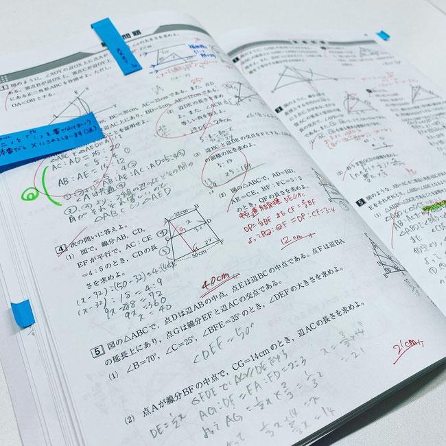 たまき塾 冬期講習 テキスト