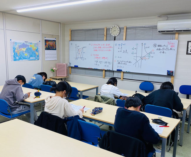 【広陵町の学習塾】たまき塾 授業風景|奈良県北葛城郡