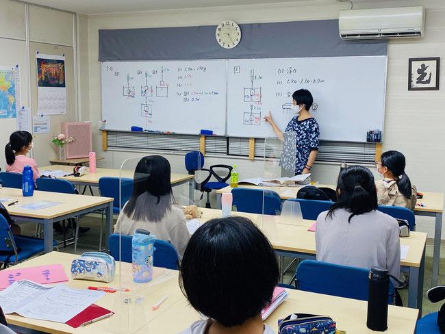 【学習塾の感染予防対策】アクリル板を設置 @たまき塾(奈良県北葛城郡広陵町)