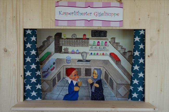 Kasperlitheater Kindergeburtstag Unterhaltung mieten