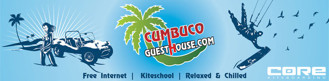The Pousada & Hotel Cumbuco Guesthouse in Brazil ! Kitesurfing and Kiteboarding in Paradise !