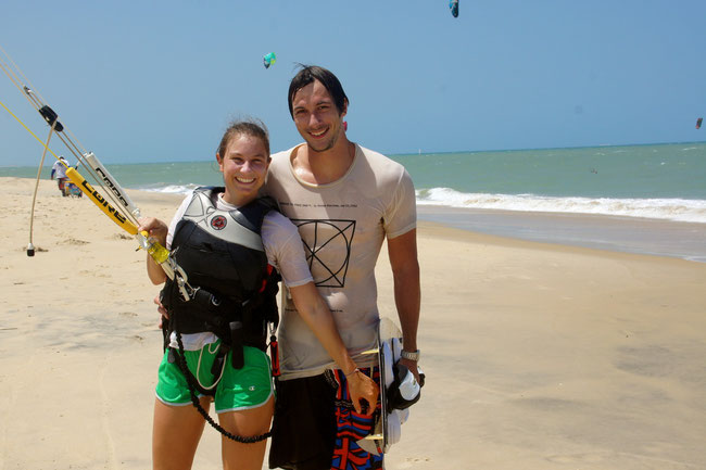 IKO Kiteschool in Cumbuco Brazil ! Come and learn how to kite !