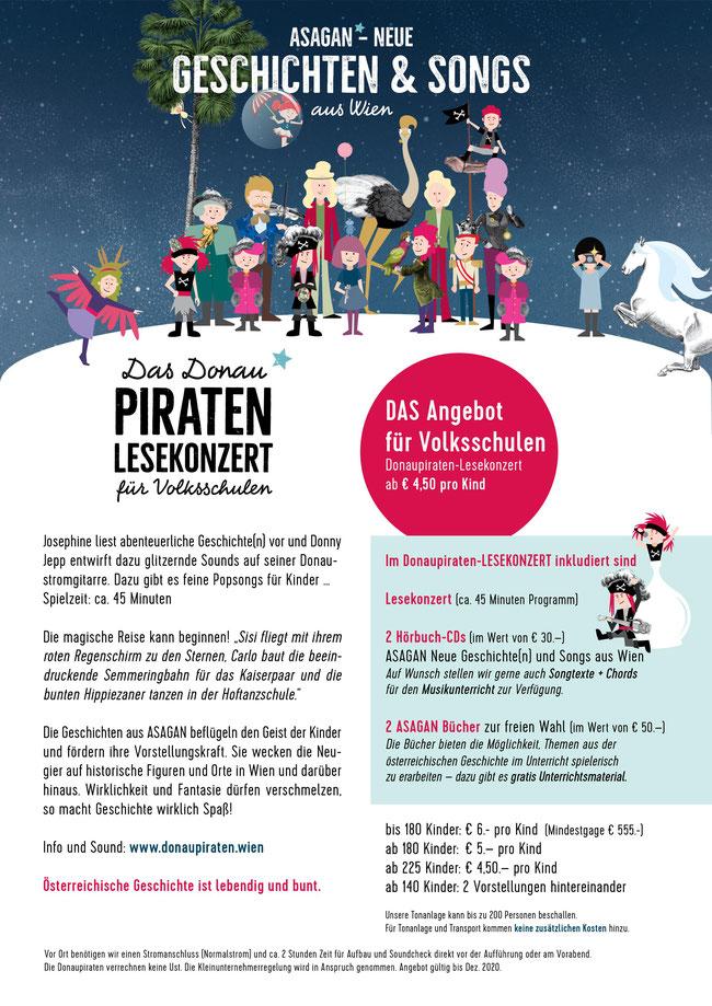 Lesekonzert Theater zum Mitmachen für Kinder - Volksschule Preise