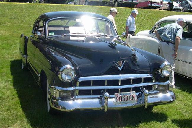 cadillac series 61 1949, bumper dagmars