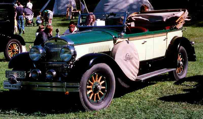 Cadillac Series 314 «Tourer», 1927