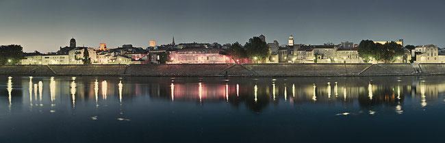 Arles, vue de Trinquetaille