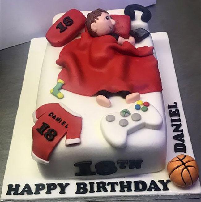 pastel de cumpleaños 18 años