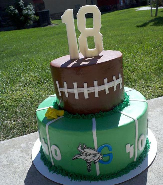 pasteles de cumpleaños de doportes