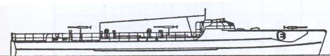 """S"""" 219"""" - Bild aus Connelly/Krakow: """"Schnellboot in Action"""""""