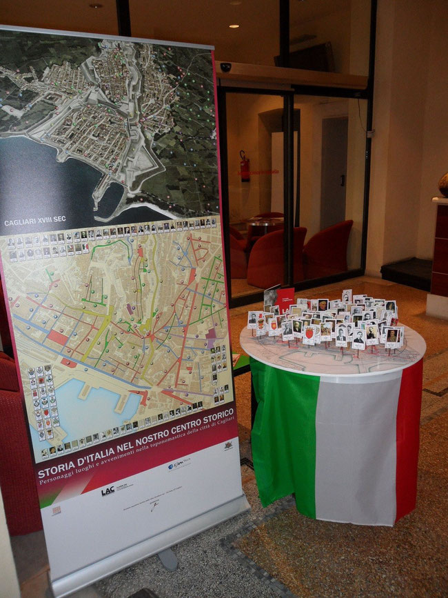 Esposizione presso il Teatro Civico del Castello di Cagliari