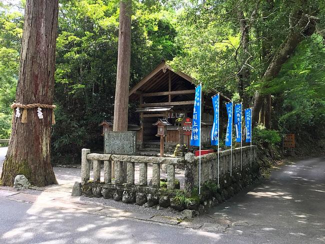 最後に丹生川上神社・中社の本殿である罔象女神様にご挨拶しました。