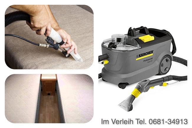 www.mueden.de, Kärcher Reinigungsgerät, Drei Bilder zusammengefasst