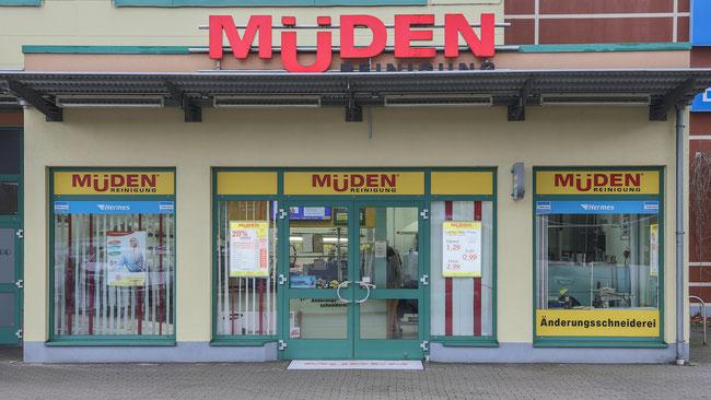 Müden Reinigung GmbH® Filiale Saarbasar außen Front