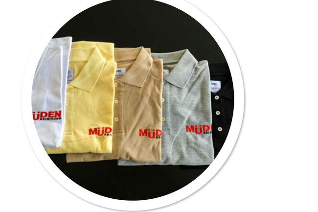 mueden, Müden Polo-Shirts neu in verschiedenen Farben