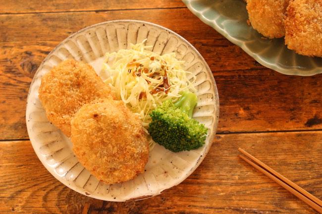 藤野料理教室にじ ナスの蒲焼き丼