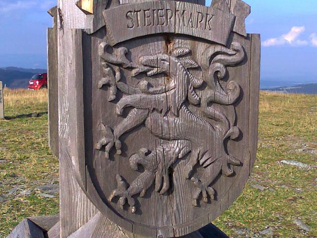 Steiermark Wappen am Hochwechsel