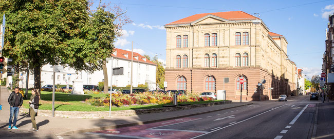 Bild: Foto des Schillerplatzes in Lauenburg