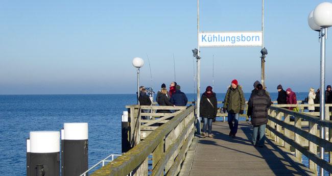 Bild: Die Seebrücke von Kühlungsborn