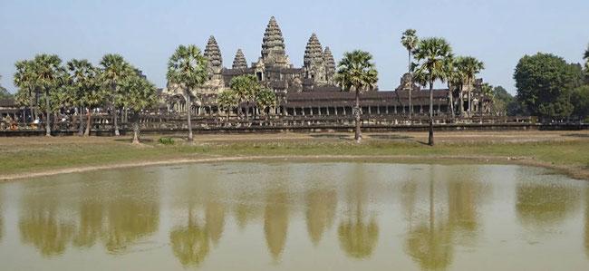 Bild: Angkor Watt in Kambodscha