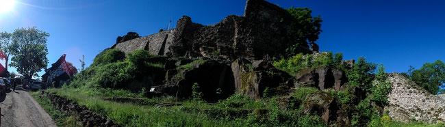 Bild: Burgruine Hohenstein im Südharz