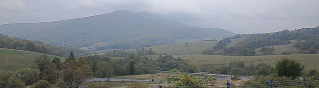 Bild: Die Landschaft von Bieszacazady in Polen