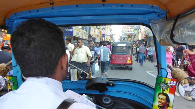 Bild: Tuk Tuk in Colombo