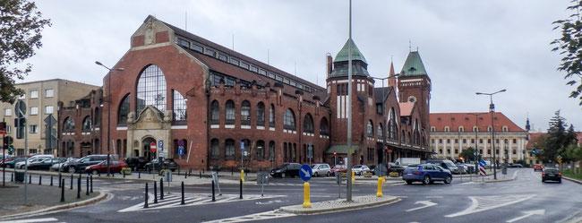 Bild: Die Markthalle von Breslau