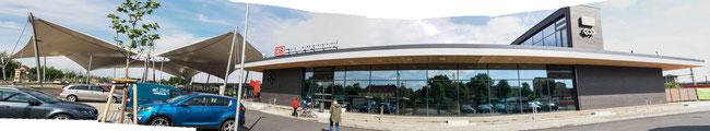 Bild: Der Hauptbahnhof von Wittenberg