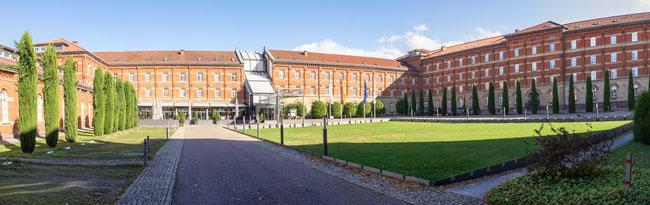 Bild: Foto von der Kaserne in Lauenburg