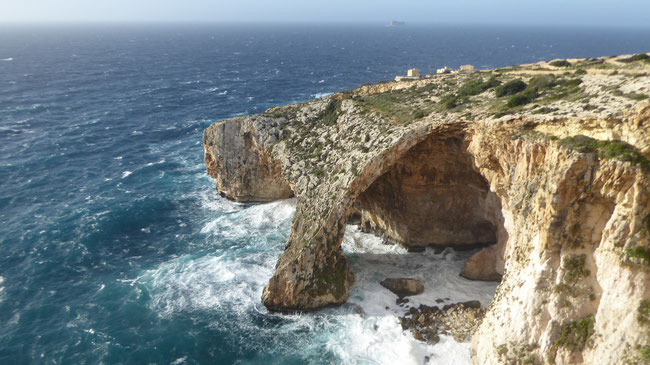 Bild: Die blaue Grotte