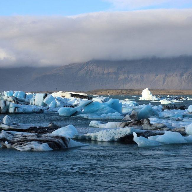 Gletscherstücke