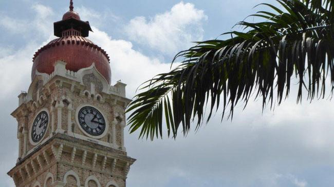 Bild: Tower in Kuala Lumpur der Hauptstadt Malaysias, ein Reliquie aus der Kolonialzeit.
